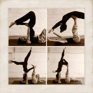 Laboratorio di yoga acrobatico