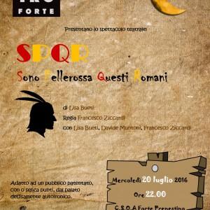 20 luglio teatro 2016 locandina SPQR