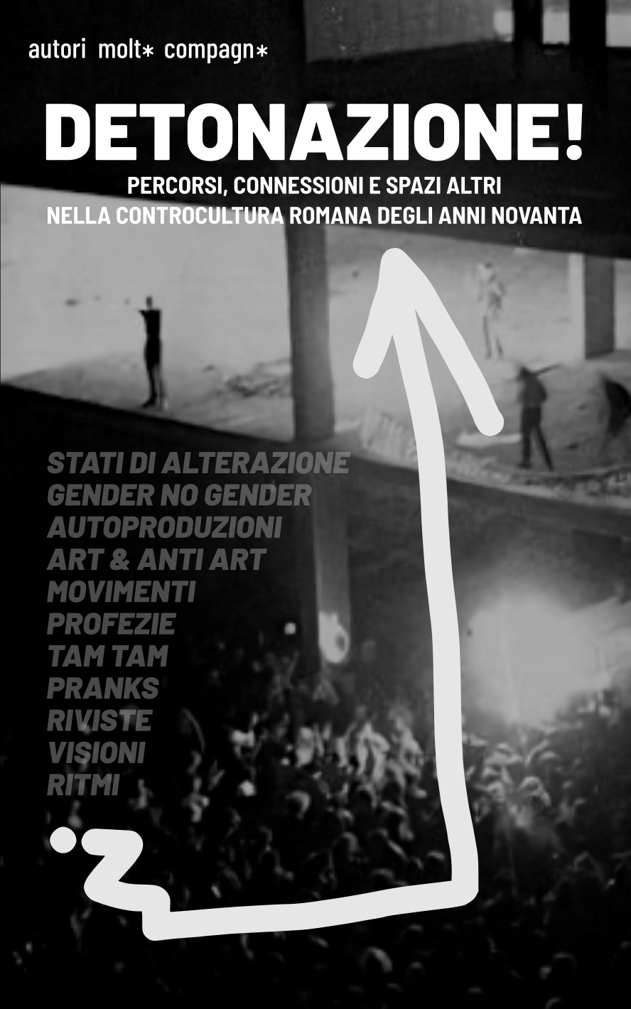 Presentazione del libro DETONAZIONE + Concerti e DJ set